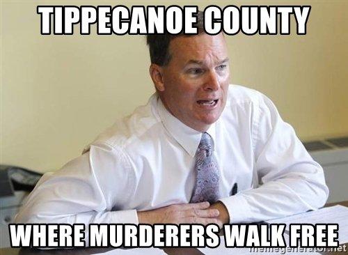 Murderers Walk Free Meme